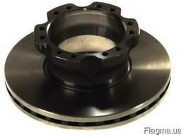 02-DA008 Тормозной диск DAF 330X34 LF45