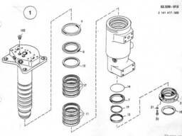 0941392 Ремкомплект поворотной колоны O&K MH CITY