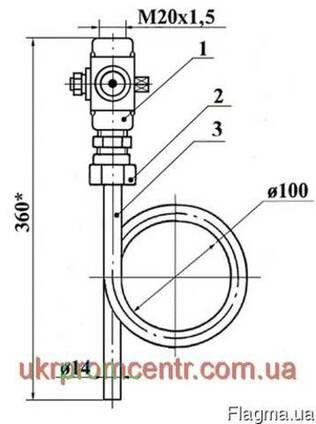 1,6-225П (ЗК14-2-3-02) отбороное устройство давления прямое