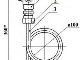 1,6-225П (ЗК14-2-3-02) отбороное устройство давления прямое - фото 1