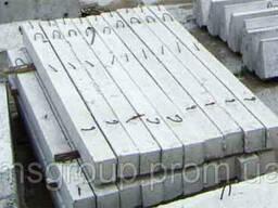 Перемички брускові залізобетонні1 ПБ 16-1