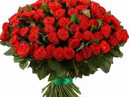 101 роза доставка Киев