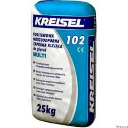 """102 Клей для плитки морозостройкий тм """"Kreisel"""". Акция 275"""