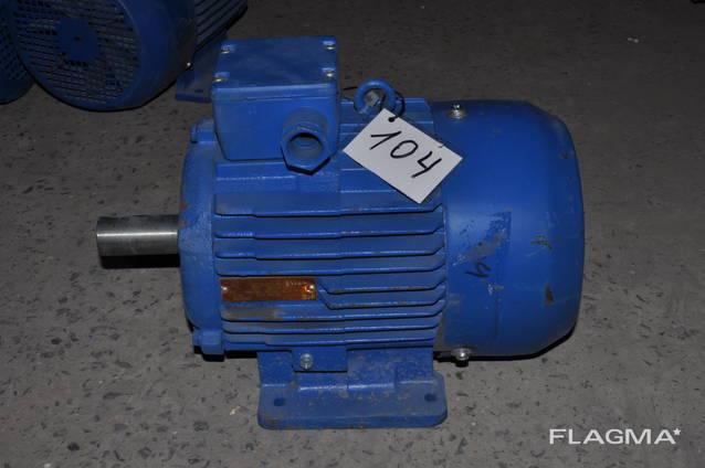 Электродвигатель електродвигун АМУ132S6 3квт 950об