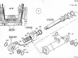 1590956 Ремкомплект гидроцилиндра подъема стрелы O&K MH