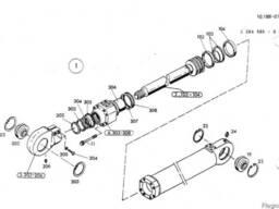 1590963 Ремкомплект гидроцилиндра излома стрелы O&K MH P
