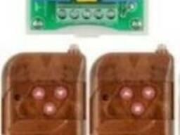 2-х канальный блок дистанционного управления 220Vгаражными