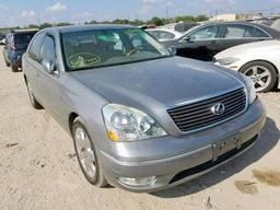 2002 Lexus Ls 430, 4.3L 8, 142456 км, Седан 4-дверный. ..