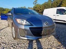 2012 Mazda 3 I, 2.0L 4, 234157 км, Седан 4-дверный Серый