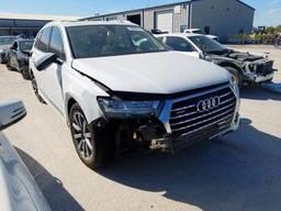 2018 Audi Q7 Prestig, 3.0L 6, 24011 км, Белый