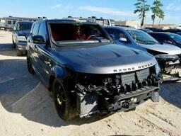 2018 Land Rover Range Rove, 5.0L 8, 32298 км, Серый