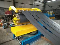 2021 линия для продольной и поперечной резки рулонного метал