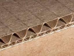 2100х340 мм 5-ти слойный лист из гофрокартона