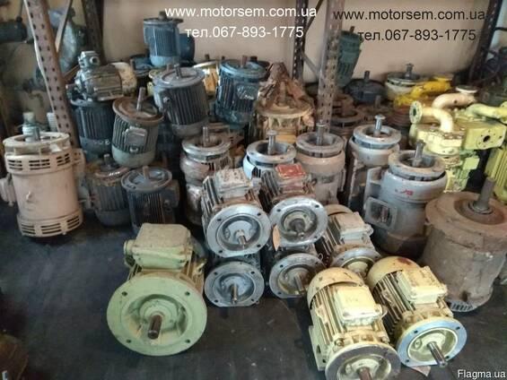 25 квт Электродвигатель 19 квт 3000- 1500 -1000 об/мин. и др