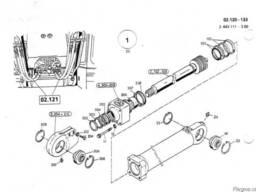 2552210 Ремкомплект гидроцилиндра подъема стрелы O&K MH
