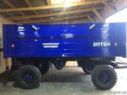 Прицеп тракторный2ПТС-4