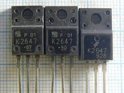 Транзисторы 2sk2647 2sk2651 2sk2666 2sk2677 2sk2698 2sk2699 2sk2717 2sk2718 2sk2750