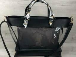 2в1 Молодежная женская сумка Амира черного цвета с. ..