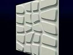 3-D гипсовые панели.
