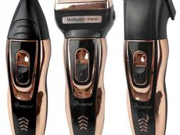 -30%! Мужской триммер бритва аккумуляторная для стрижки волос и бороды
