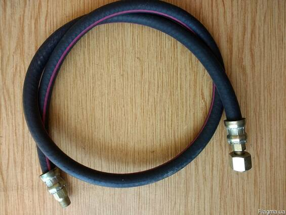 375-4225075-02 Шланг подкачки (длинный) 927 мм УРАЛ