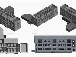 3D моделирование Revit на основе чертежей