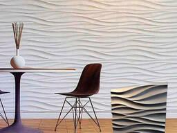 3D панель из гипса «Волна»