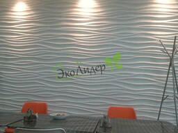 3D панели Волна гипсовые панели