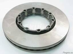 4079001001, Гальмівний диск (376mmx45mm) SAF B, SKRB,