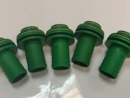 471202A41 Ниппель вставной 30 мм (фитинг на кран регулятора давления зеленый)