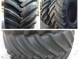 Б/у шины, тракторные шины, шины для комбайна, новые шины