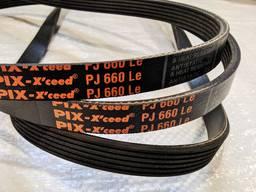 6 PJ 660 Ремень приводной для бетономешалки Limex, Euromix