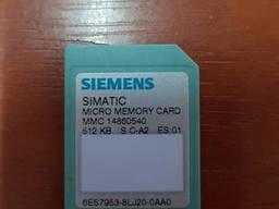 6ES7 953-8LJ20-0AA0, 512kВ Siemens Карта памяти