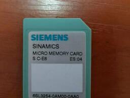 6SL3 254-0AM00-0AA0 Siemens Карта памяти Sinamics