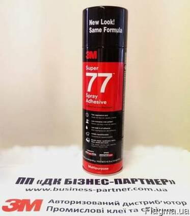 77 Super Аэрозольный клей для постоянной фиксации 710мл