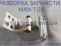 81626906063 Петля двери нижняя MAN TGS 81626906045, 81626906043