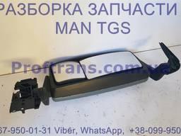 81637306552 Зеркало боковое электро MAN TGS 81637306764, 81637306552