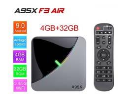 A95X F3 Air 4/32Gb S905X3 ТВ приставка Smart TV box X96H96