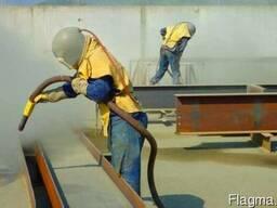 Абразивная обработка металла (пескоструй)