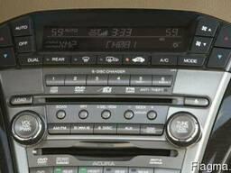 Acura mdx 2008 магнитола чейнджер магнитофон DVD