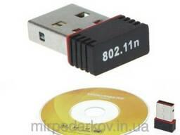 Адаптер wi-fi беспроводный 150M USB 802.11n LAN диск драйв