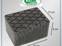 Адаптеры резиновые блоки для ножничных подъемников Р78 мм
