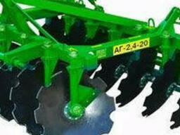 Агрегат почвообрабатывающий дисковый типа АГ. ..