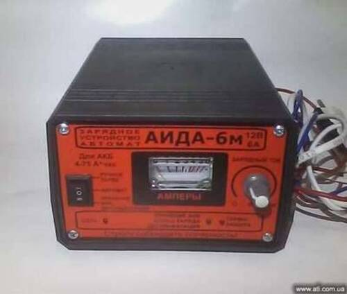 Аида 6м зарядное устройство