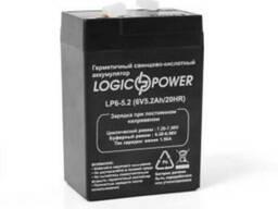 АКБ кислотный 6 вольт, аккумулятор для весов, ИБП, фонаря
