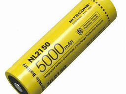Аккумулятор литиевый Li-Ion 21700 Nitecore NL2150