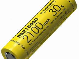 Аккумулятор литиевый Li-Ion IMR 18650 Nitecore 3, 7V 30A 2100mAh