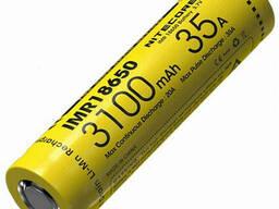 Аккумулятор литиевый Li-Ion IMR 18650 Nitecore 3, 7V 35A 3100mAh