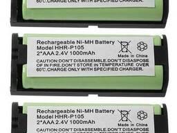 Аккумулятор радиотелефона Panasonic HHRP105 HHR-P105. ..
