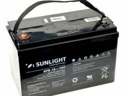 Аккумулятор Sunlight SP12-100, 12 Вольт 100Ач.